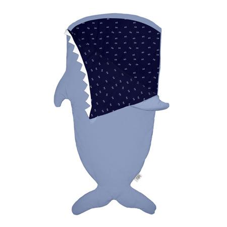 Baby Bites Śpiworek letni Shark Slate Blue 2 - 6 lat