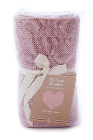 My Bag's Kocyk My Cozy bawełniany pink