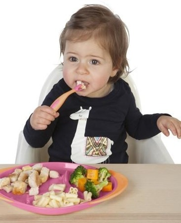 B.Box Pierwsze sztućce do nauki samodzielnego jedzenia Strawberry Shake