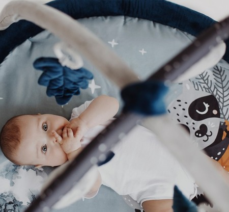 Baby Steps Mata edukacyjna Leśne Zwierzaki