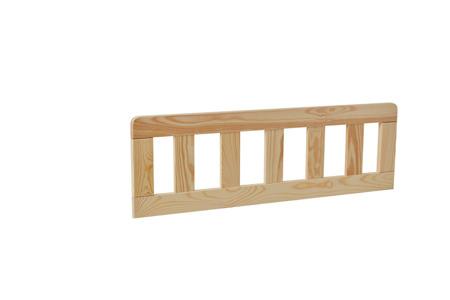 Barierka ochronna do łóżka domek 200x90 2szt Classic drewno Pinio