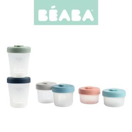 Beaba Zestaw słoiczków Clip 6 szt. (2x90ml + 2x150ml + 2x250ml)