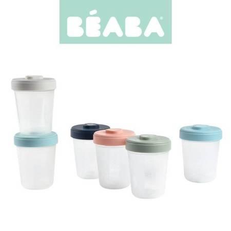 Beaba Zestaw słoiczków Clip 6 szt. (6x250ml)