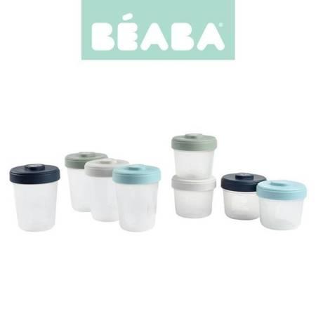 Beaba Zestaw słoiczków Clip 8 szt. (4x150ml + 4x250ml)