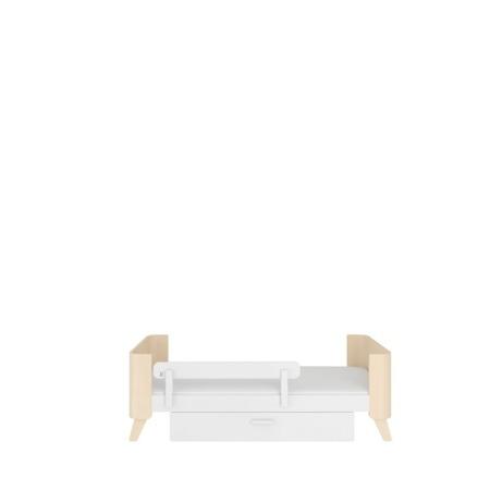 Bellamy Uniwersalna barierka ochronna do łóżeczka kremowa