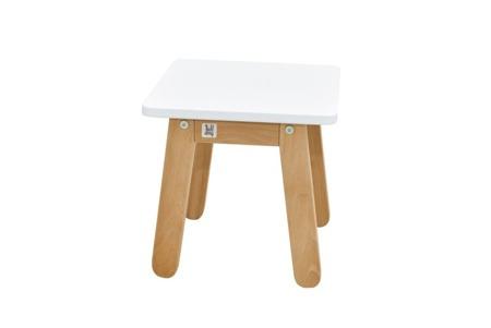 Bellamy Zestaw Stolik i krzesełko Woody SNOW  biały