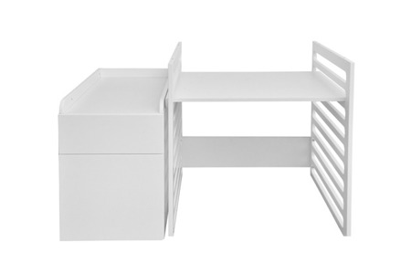 Bellamy łóżeczko UP 70x120 rozkładane do 70x160 + biurko