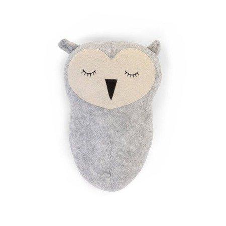 Childhome Filcowa głowa sowy na ścianę