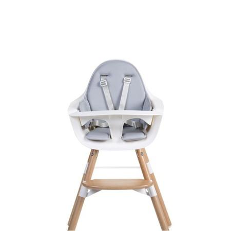 Childhome Ochraniacz - poduszka neoprenowa do krzesełka Evolu 2 jasno-szara