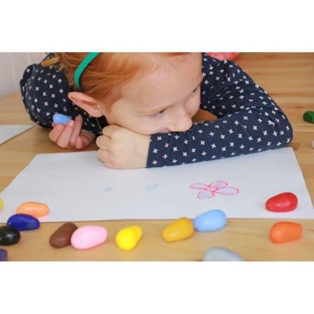 Crayon Rocks Kredki w bawełnianym woreczku 16 kolorów