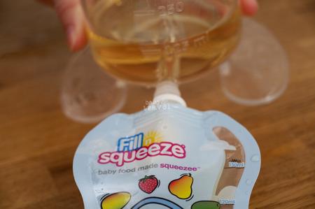 Fill'n Squeeze zapasowe saszetki 10szt.