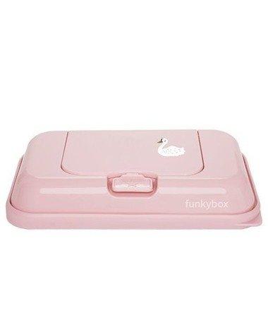 Funkybox Pojemnik na chusteczki To Go pink swan
