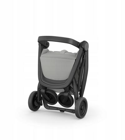 Greentom  Classic Wózek spacerowy  EKO czarno-szary