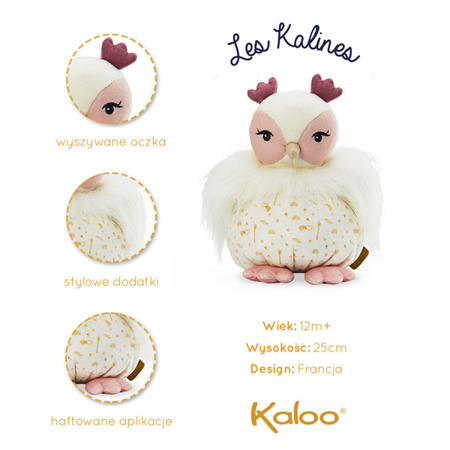 Kaloo Les Kalines Sowa Luna 25cm w pudełku