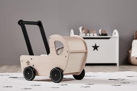 Kids Concept Neo Wózek drewniany Natural