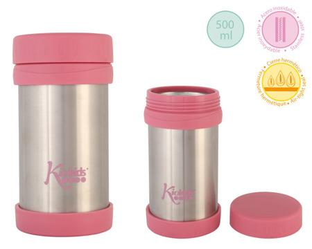 KioKids, Termos na jedzenie 500ml różowy
