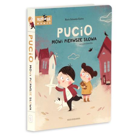 Książka Pucio mówi pierwsze słowa