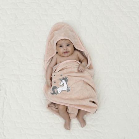 La Millou Ręcznik Bamboo Soft Newborn Braveheart Lion cream