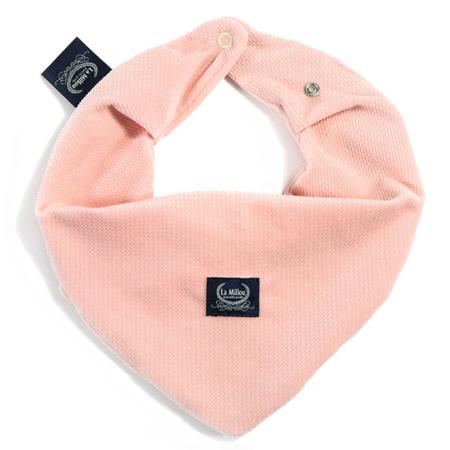 La Millou Velvet Collection Mięciutka apaszka Powder Pink