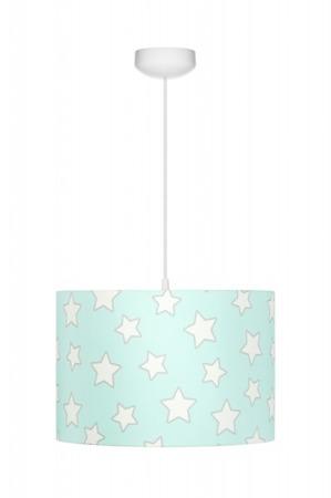 Lampa wisząca dla dzieci Mint Stars