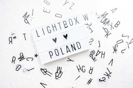 Lampka LIGHTBOX A4