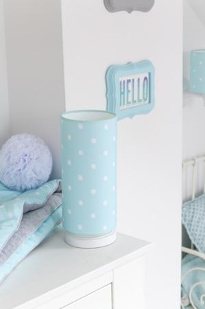 Lampka nocna dla dzieci Lovely Dots Mint