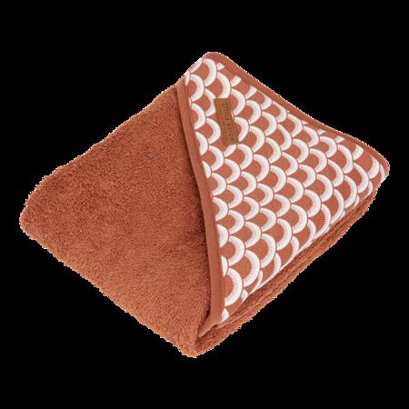 Little Dutch Bawełniany ręcznik Sunrise Rust