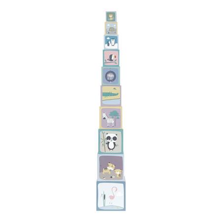 Little Dutch Kartonowa wieża 10 elementów