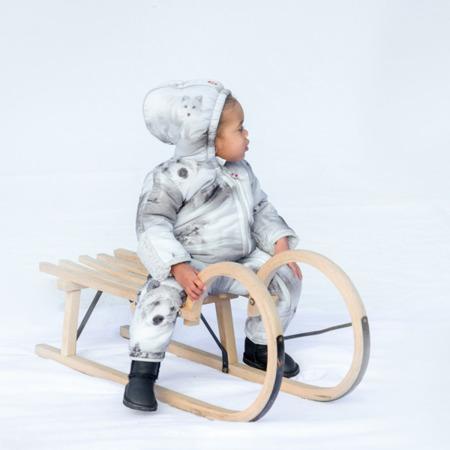 Lodger Skier Botanimal Kombinezon zimowy dla niemowlaka Mist Forest 12-18 m-cy