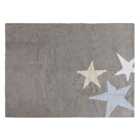 Lorena Canals Tres Estrellas Azul 120x160cm