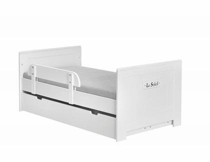 Łóżeczko-tapczanik 140x70 Blanco Pinio Marsylia MDF