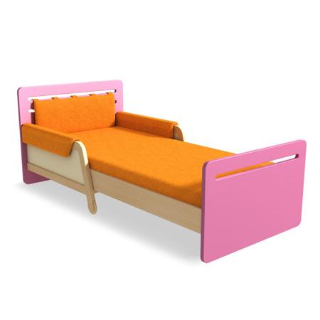 Łóżko rozsuwane różowe Timoore Simple