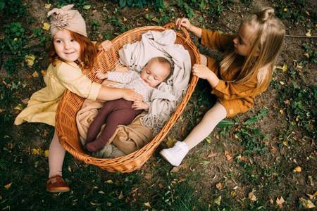 Mama's Feet Rajstopy Klasyczne - Czarne 3-4 lat