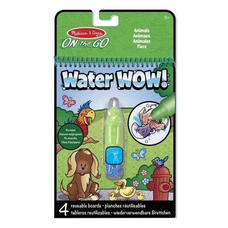 Melissa & Doug Kolorowanka wodna Water Wow zwierzęta