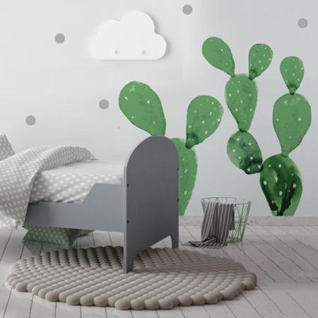 Naklejka Nad Mebelki Kaktusy, Dekornik