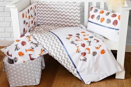 Ochraniacz na połowę łóżeczka, Liski 30x210cm