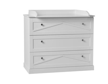 Pinio Marie Komoda 3-szufladowa biała