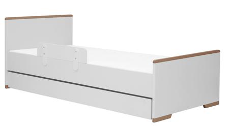 Pinio Snap Łóżko młodzieżowe 90x200 białe