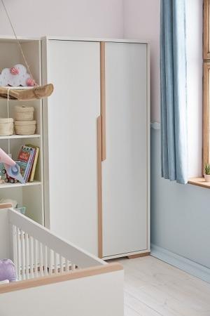 Pinio Snap Szafa 2 drzwiowa biała