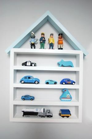 Dziecięca półka Garaż domek duży