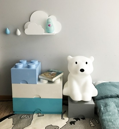 Dziecięca Półka chmurka