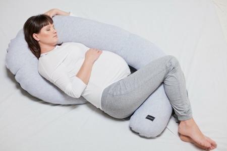 Poofi Poduszka ciążowa Organic&Color miodowa