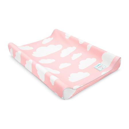 Przewijak z pokrowcem Chmurki Pink&Grey