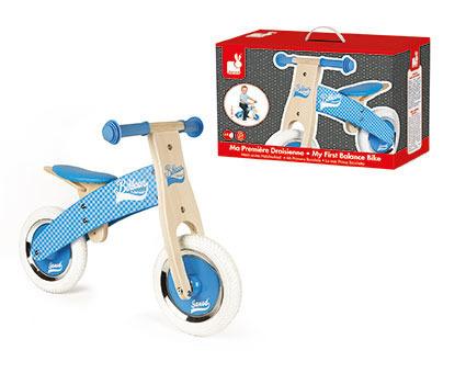 Rowerek biegowy niebieski Little Bikloon 2+, Janod