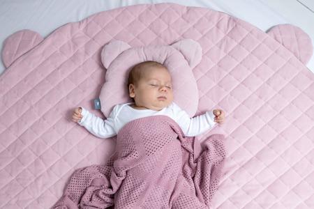 Sleepee Poduszka z wgłębieniem na główkę Royal Baby denim
