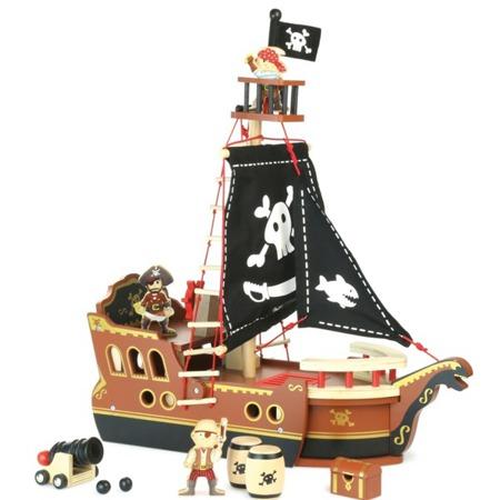 Statek piracki drewniany, Vilac