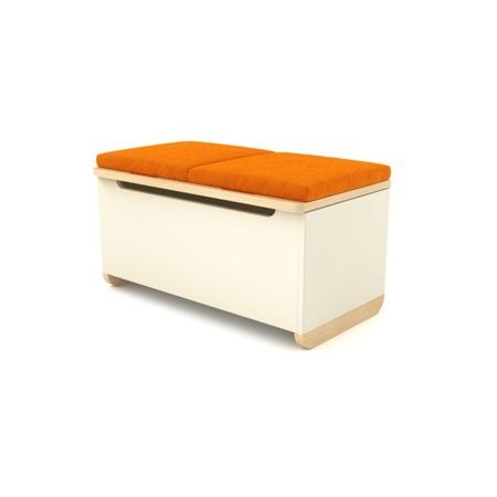 Tapicerka do Toy Box pomarańczowa Timoore Simple