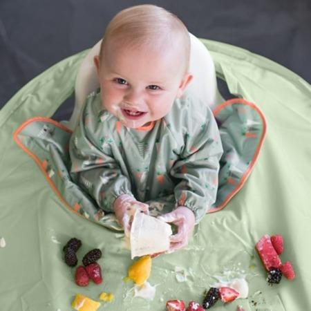 Tidy Tot Kit Zestaw do nauki jedzenia metodą BLW sage green