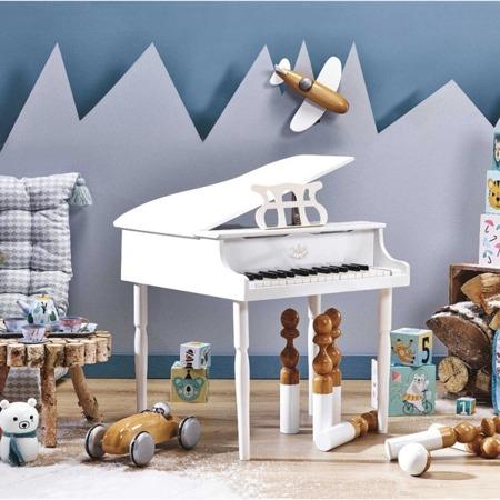 Vilac Fortepian drewniany dla dzieci biały