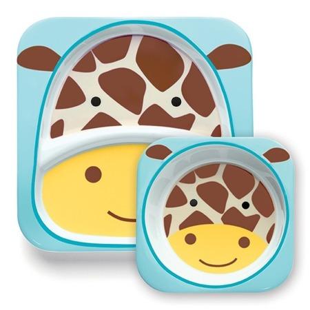 Zestaw jedzeniowy Zoo Żyrafa, Skip Hop